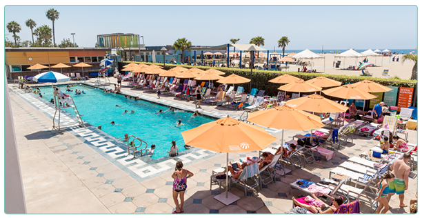 Annenberg community beach house pool for Santa monica swimming pool hours